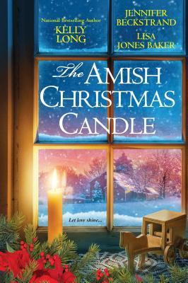 an amish christmas candle
